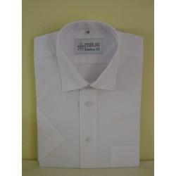 Košile bílá, krátký rukáv, nadměr III