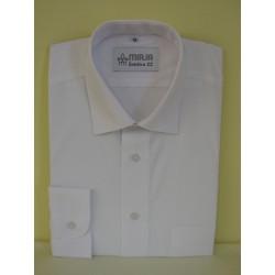 Košile bílá, dlouhý rukáv, nadměr